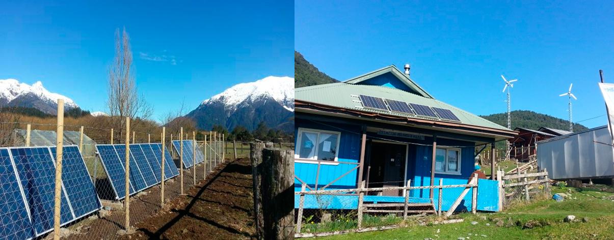 Escuela La Cascada, comuna de Palena y Escuela Trongol Alto, comuna de Curanilahue